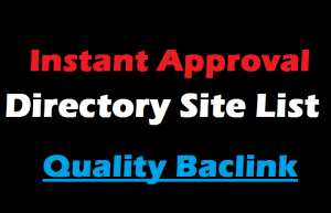 Directory Submission Sites Lists