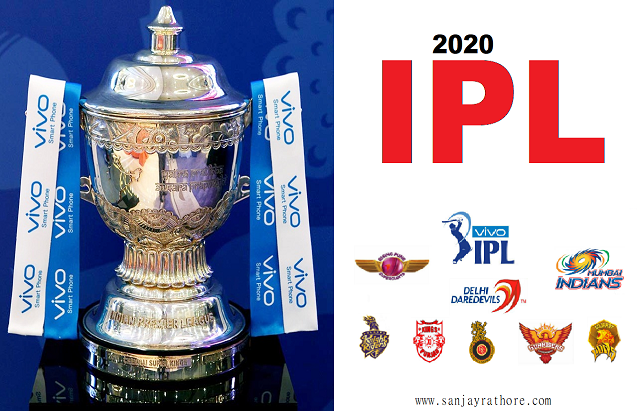 How many teams will play in IPL 2020