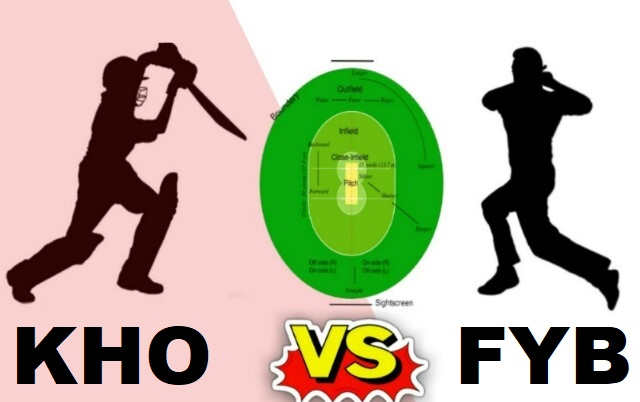 KHO Vs FYB Dream11 Team