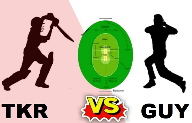TKR Vs GUY Dream11 Team
