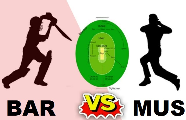 BAR Vs MUS Dream11 Team