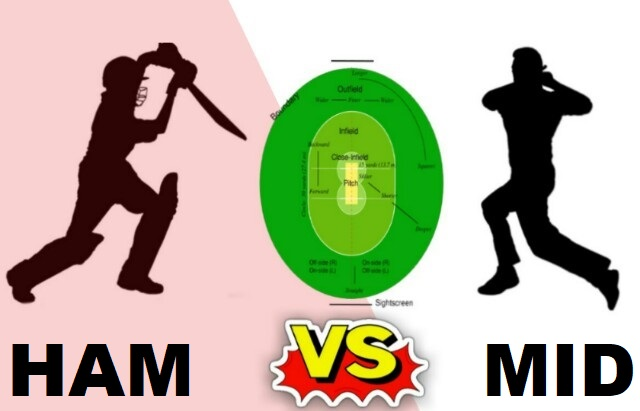 HAM Vs MID Dream11 Team