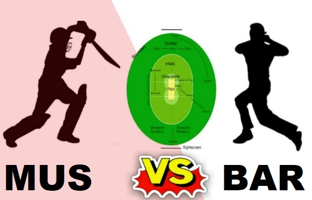 MUS Vs BAR Dream11 Team