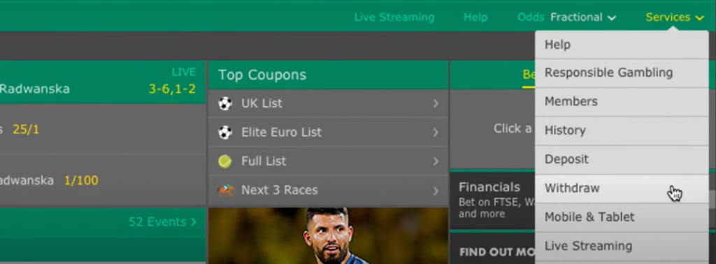 Withdraw bet365 paypal